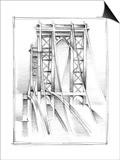 Art Deco Bridge Study I