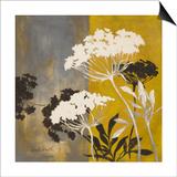 Silhouette Flowers II