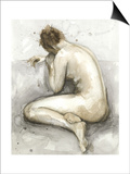 Figure in Watercolor II