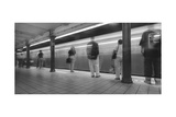 Manhattan Subway Station Panorama