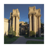 Palace of Fine Arts Columns Closeup