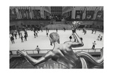 Rockefeller Skating Rink Panorama