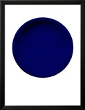 Blue Disk, c.1957 (IKB54) Reproduction encadrée par Yves Klein
