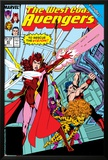 Avengers West Coast No43 Cover: Scarlet Witch