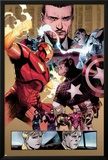 New Avengers No48 Group: Captain America  Spider Woman  Ronin and Wolverine