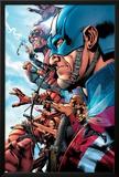 The Ultimates 2 No1 Cover: Captain America