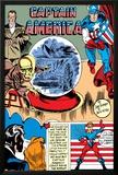 Captain America Comics No1 Cover: Captain America  Bucky  Sando and Omar