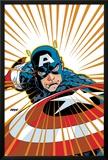Captain America V4  No27 Cover: Captain America Fighting