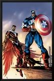 Captain America And The Falcon No3 Cover: Captain America and Falcon