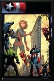 Marvel Adventures The Avengers No29 Cover: Captain Marvel