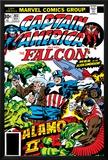 Captain America And The Falcon No203 Cover: Captain America  Falcon  Marvel Comics and Thor
