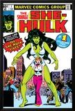 Hulk Family: Green Genes No1 Cover: She-Hulk  Walters and Jennifer