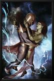 Nova No10 Cover: Nova and Gamora