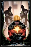 Captain Marvel No4 Cover: Captain Marvel