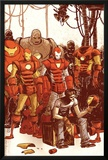 Iron Man & The Armor Wars No1 Cover: Stark and Tony