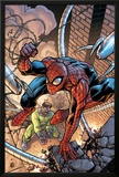 Marvel Adventures Two-In-On No19 Cover: Spider-Man and Doctor Octopus