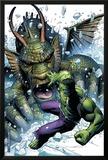 Hulk Vs Fin Fang Foom No1 Cover: Hulk and Fin Fang Foom