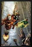 Marvels: Eye Of The Camera No4 Cover: Iron Man  Thor and Vision