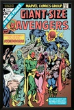 Giant-Size Avengers No4 Cover: Vision  Scarlet Witch  Thor  Iron Man and Dormammu