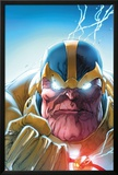 Lockjaw and The Pet Avengers No4 Headshot: Thanos