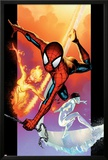 Ultimate Spider-Man No118 Cover: Spider-Man  Iceman and Firestar