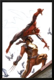 Secret Invasion No7 Cover: Spider-Man and Wolverine