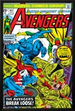 Avengers No143 Cover: Beast  Captain America  Iron Man  Vision and Avengers