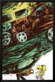 Marvel Adventures Spider-Man No54 Cover: Spider-Man Fighting