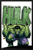 Marvel Adventures Hulk No4 Cover: Hulk