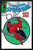 Amazing Spider-Man No301 Cover: Spider-Man Swinging
