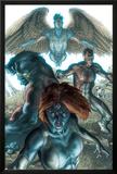Dark X-Men No1 Cover: Mystique  Dark Beast and Omega