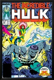 Incredible Hulk No337 Cover: Hulk  Cyclops  Grey  Jean  Iceman and X-Factor