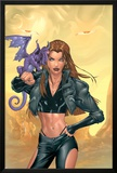 X-Treme X-Men No44 Cover: Pryde  Kitty and Lockheed