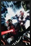 Nova No17 Cover: Nova and Darkhawk