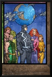 Secret Invasion: Inhumans No4 Group: Black Bolt  Medusa  Karnak  Gorgon  Crystal and Triton
