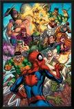 Spider-Man & The Secret Wars No2 Cover: Spider-Man