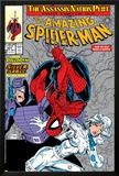 Amazing Spider-Man No321 Cover: Spider-Man  Silver Sable and Paladin