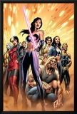 New Exiles No8 Cover: Psylocke and Sabretooth