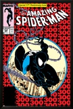 Amazing Spider-Man No300 Cover: Spider-Man Fighting and Flying