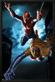 Ms Marvel Annual No1 Cover: Spider-Man and Ms Marvel