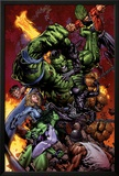 World War Hulk No2 Cover: Hulk