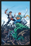 StarJammers No3 Cover: Chod  Raza and Starjammers