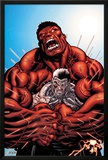 Avengers: X-Sanction No3 Cover: Cable and Red Hulk Fighting