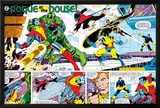 X-Men Annual No3 Group: Colossus  Nightcrawler  Wolverine  Storm  Cyclops and X-Men
