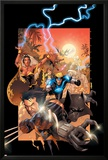 X-Men No175 Cover: Wolverine  Storm  Black Panther  Havok  Iceman and X-Men