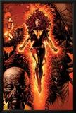X-Men: Legacy No211 Cover: Dark Phoenix  Brood  Nova and Cassandra