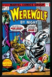 Werewolf By Night No32 Cover: Moon Knight and Werewolf By Night