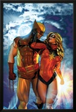 Dark Wolverine No81 Cover: Wolverine and Ms Marvel