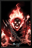 Ghost Rider No1 Cover: Ghost Rider Flaming