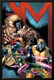 Exiles No69 Cover: Sabretooth  Blink  Mimic  Morph and Exiles